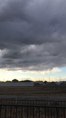 変な雲行き画像