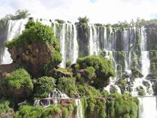 イグアスの滝 ブラジル アルゼンチン