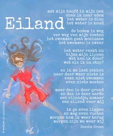 Gedicht Eiland - Weduwe in Opleiding - Sascha Groen