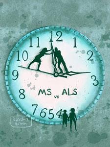 Tijdstrijd - MS vs ALS - Weduwe in Opleiding - Sascha Groen