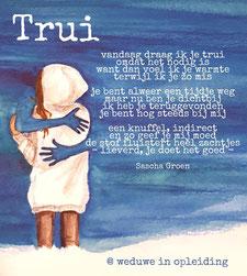 Gedicht Trui - Weduwe in Opleiding - Sascha Groen