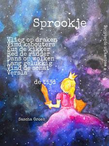 Gedicht Sprookje - Weduwe in Opleiding - Sascha Groen