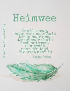 Gedicht Heimwee - Weduwe in Opleiding - Sascha Groen