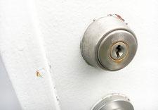 鍵穴のアップの写真