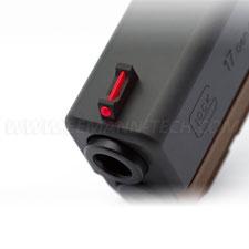 ipsc visierung für glock mit fiber optic