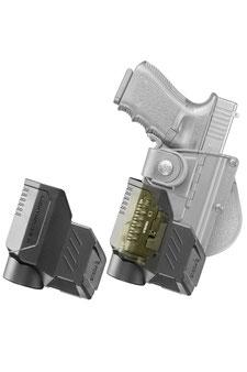 Glock Holster mit Licht Laser Modul von Fobus