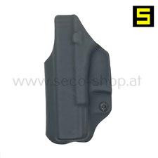 IWB Holster zum verdeckten Tragen für Glock Pistolen Glock 17 Glock 19 Glock 43 Glock 43X