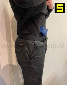 appendix innenbund holster zum verdeckten tragen glock 17 glock 19 glock 43 glock 43x RAIL