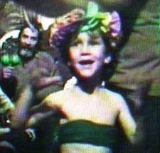 Alicia, 5 ans. Chili, déscmbre 1990.