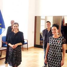 UGÖD bei Justizministerin Dr. Alma Zadic
