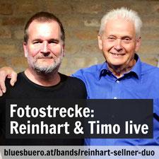 Reinhart Sellner & Timo Brunnbauer LIVE 25.9. 19.30h im Taktlos, Dornbacher Straße 107, 1170 Wien