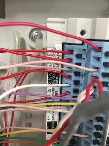 代表移信は火災発報時のみ電圧