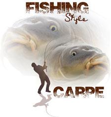 idée cadeau du pecheur fishing carpe