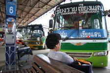 Thailändischer Reisebus