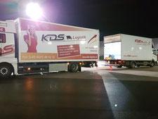KDS Logistik Aktuelles Umzüge, Lagerlogistik, Maschinentransporte