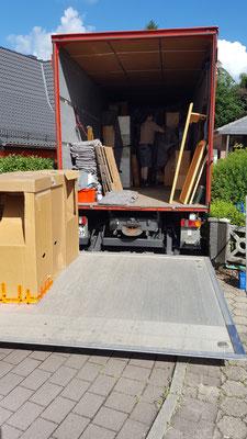 KDS Logistik Privatumzüge Deutschland und Europaweit