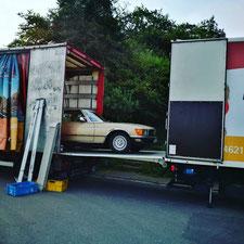 KDS Logistik Maschinentransporte Schwerguttransporte Fahrzeugtransporte Fahrzeugüberführung