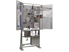 Automatic Hot Oil sampling station ATEX certified, oil sampler closed loop, no emission, bottle sampler