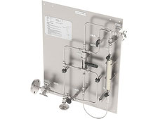 LPG Gas liquefied gas sampling station, one-handle bypass sampler closed loop, no emission, cylinder sampler