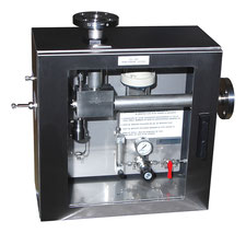Flow Thru Liquid Sampler Cabinet Mechatest