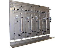 gas sampling panel, LPG NGL liquefied gas sampler closed loop, no emission, cylinder sampler