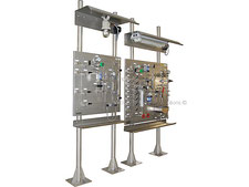 LPG Gas liquefied gas sampling stations on standpipe, hydrocarbon gas sampler closed loop, no emission, cylinder sampler