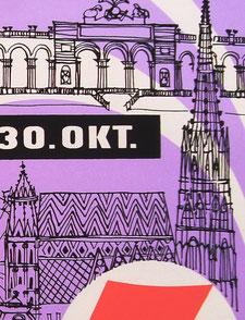 Ausschnitt, Plakat um 1958.