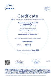 IQ Net zertifiziert