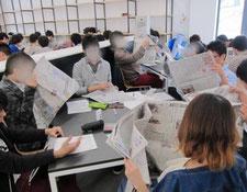 就職活動 新聞の役割
