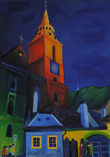 Ildiko Terebesi - Fekete templom, Brasso