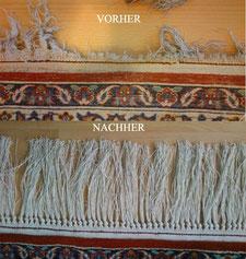 Teppichreparatur Fransen Rheinstetten Karlsruhe