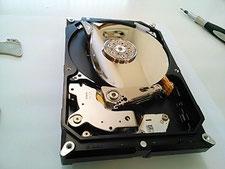 円盤も破壊したHDD