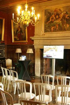 Atelier dans le Bureau du Château de Poudenas