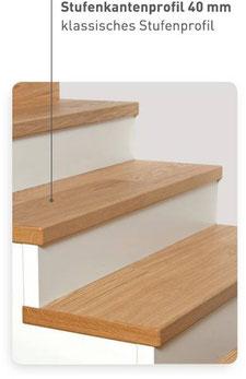 Bild: Stufenkantenprofil 40 mm