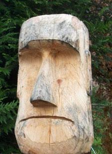 Moai, polynesische Kultfigur