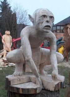 Gollum aus Herr der Ringe
