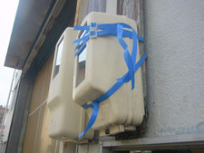 電気メーター板の交換:工事前写真