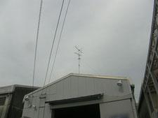 TVアンテナの撤去作業:工事前写真