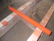 配管仕切りパイプの改修:工事中写真