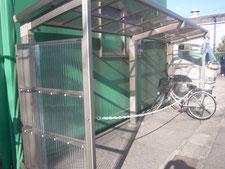 サイクルポートの新設:工事後写真