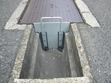 排水ストッパー板