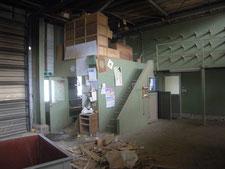 工場内物置の解体:工事前写真