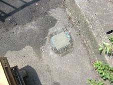 角パイプの撤去作業:工事後写真