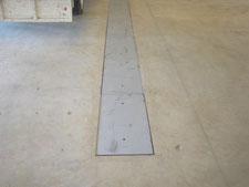鉄製溝蓋の設置:工事後写真