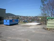 ホッパー小屋の解体:工事後写真