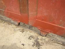 重量戸車の交換:工事後写真