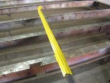 保護アングルの修理:工事中写真