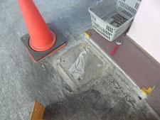 車止めポール:工事前写真