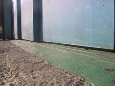 ガイド棒溶接:工事前写真