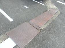 ドブ板の現場溶接修理:工事前写真
